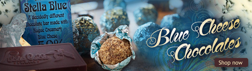 Blue Cheese Chocolates