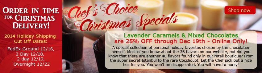 Chefs Choice Christmas Specials