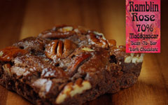 Ramblin Rose Brownies