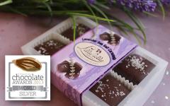 Lavender Sea Salt Caramels