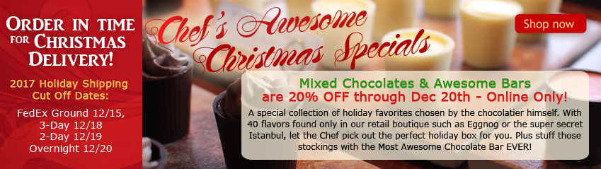 Chefs Awesome Christmas Specials