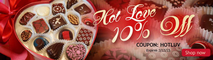Hot Love - 10% Off for Valentine's Day